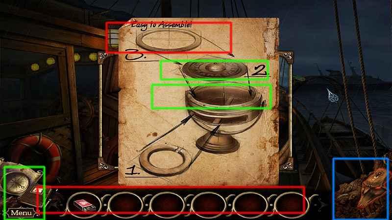 the cursed island: mask of baragus collector's edition walkthrough screenshots 2
