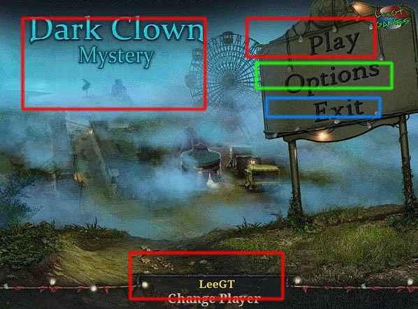 dark clown mystery collector's edition walkthrough screenshots 1