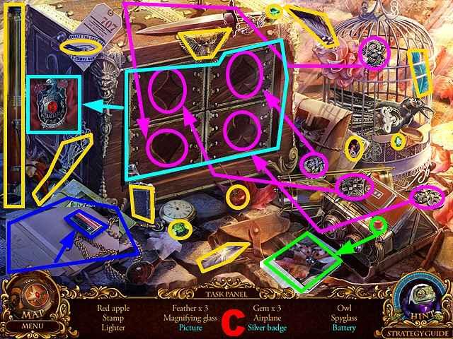 mystery trackers: silent hollow walkthrough 2 screenshots 3