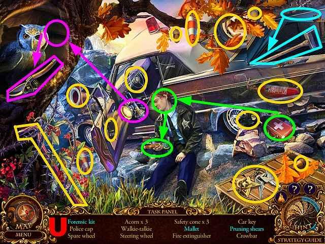 mystery trackers: silent hollow walkthrough 6 screenshots 3