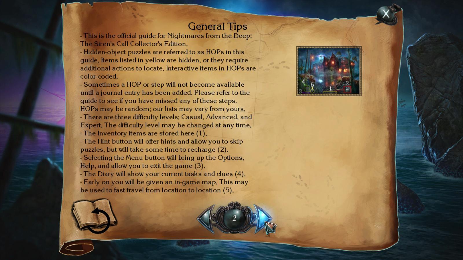 nightmares from the deep: the siren's call walkthrough 2 screenshots 1