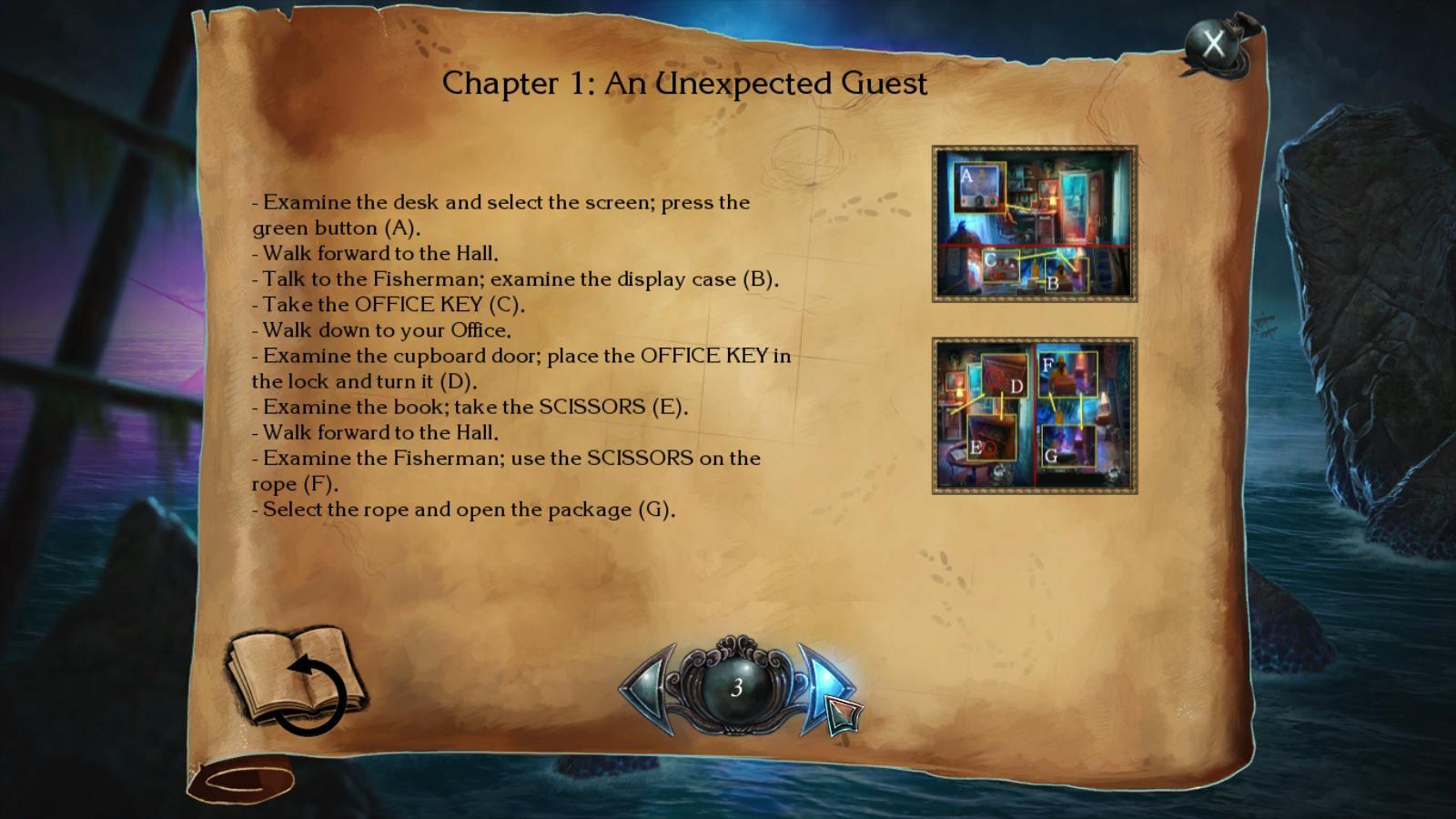 nightmares from the deep: the siren's call walkthrough 2 screenshots 3