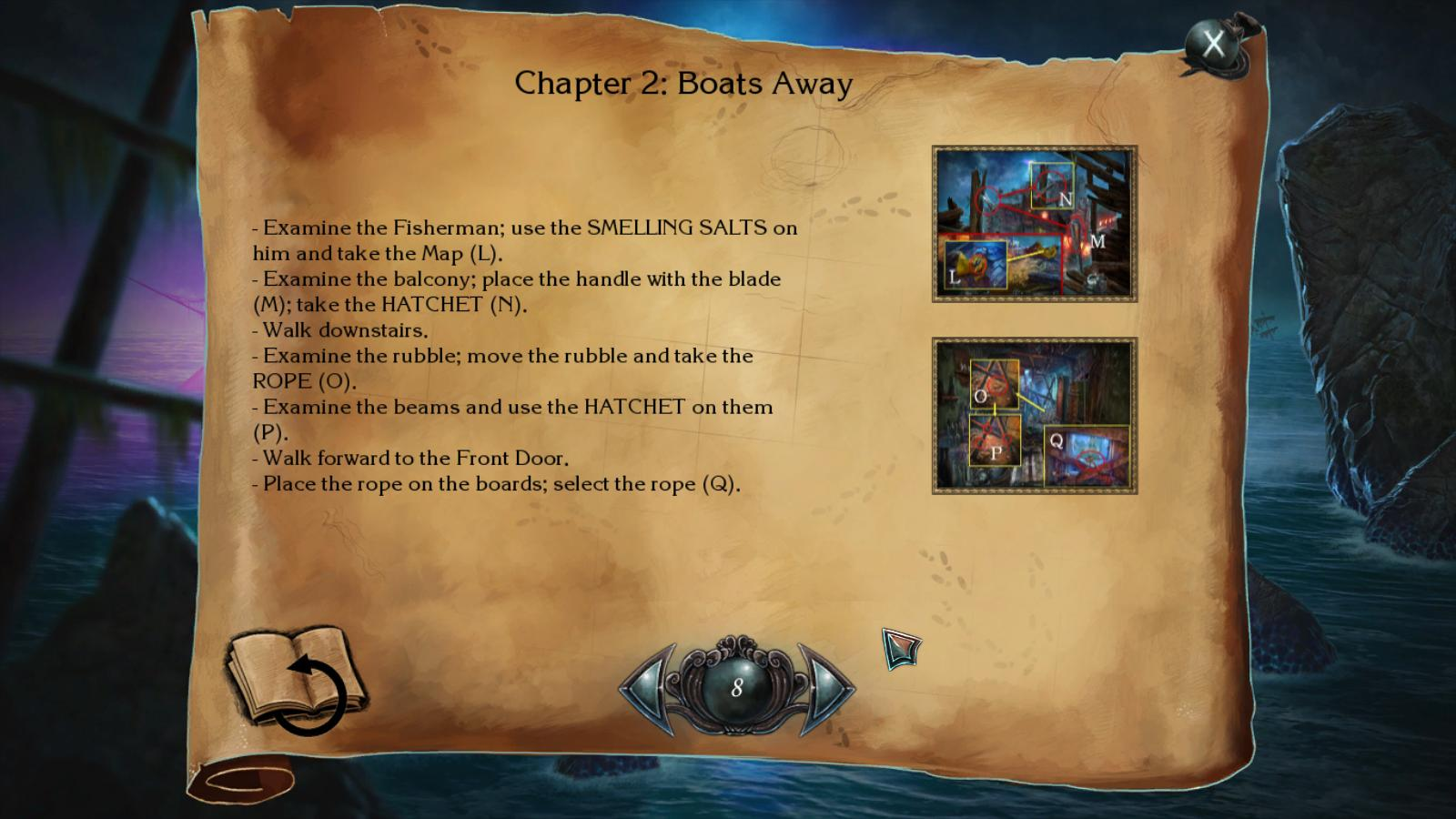 nightmares from the deep: the siren's call walkthrough 7 screenshots 3