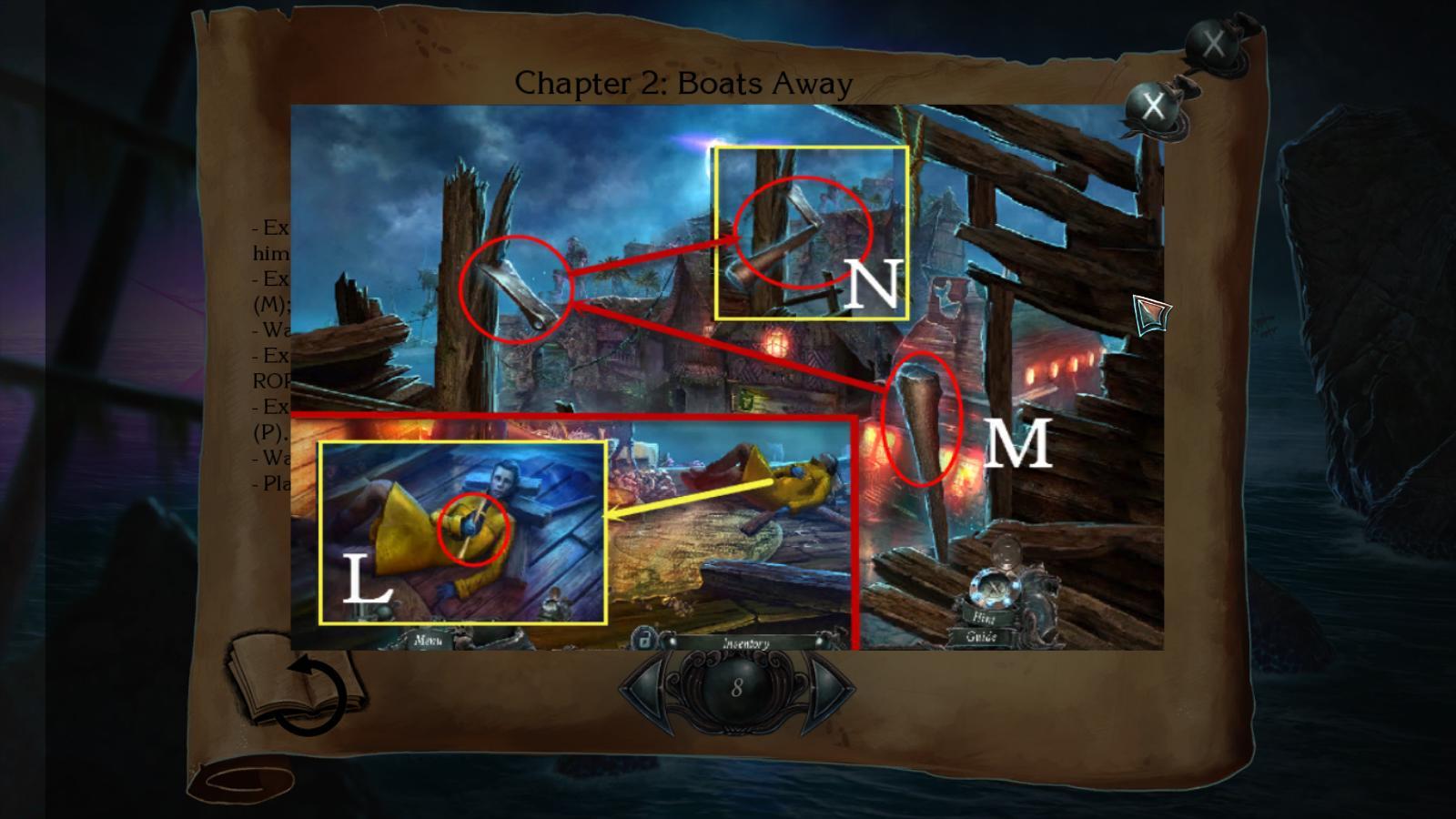 nightmares from the deep: the siren's call walkthrough 8 screenshots 2
