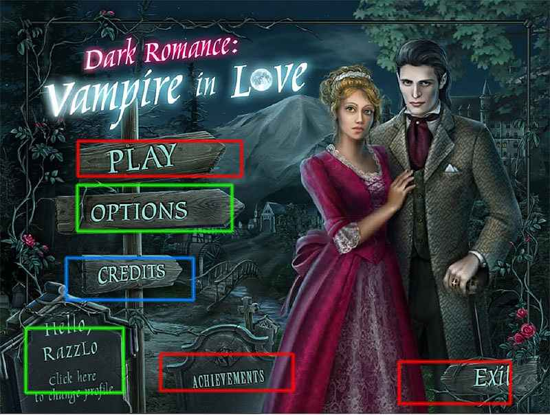 dark romance: vampire in love walkthrough screenshots 1