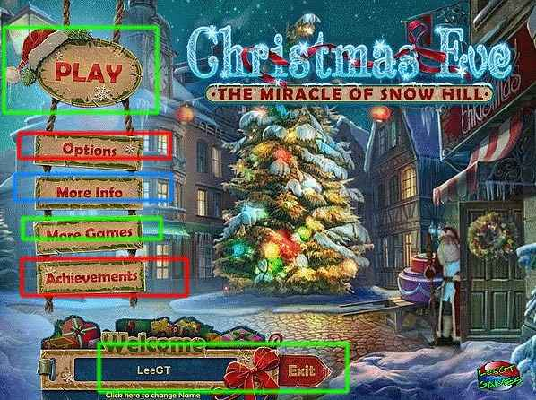 christmas eve: the miracle of snow hill collector's edition walkthrough screenshots 1