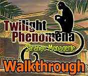 twilight phenomena: strange menagerie walkthrough 4