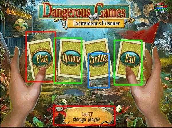 dangerous games: excitement's prisoner collector's edition walkthrough screenshots 1