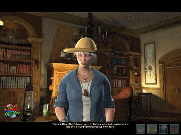 nancy drew: legend of the crystal skull screenshots 1