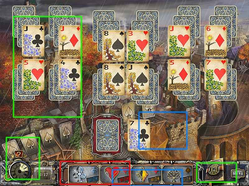 solitaire mystery: four seasons walkthrough screenshots 3