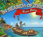 in search of treasure: pirate story