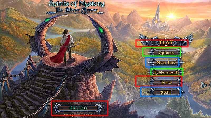 spirits of mystery: the silver arrow collector's edition walkthrough screenshots 1