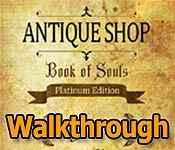 antique shop: book of souls collector's edition walkthrough