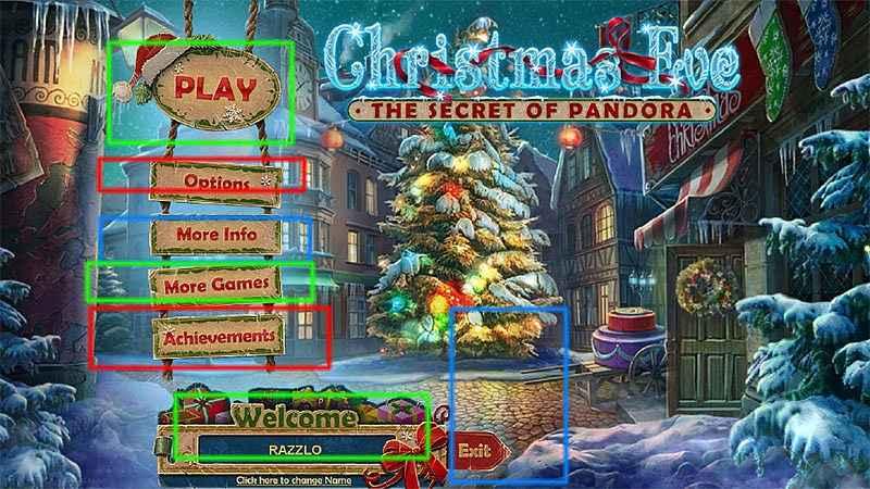christmas eve: the secret of pandora collector's edition walkthrough screenshots 2