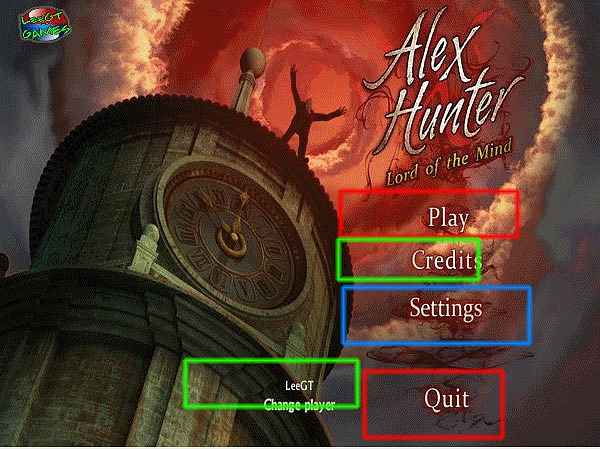 alex hunter: lord of the mind collector's edition walkthrough