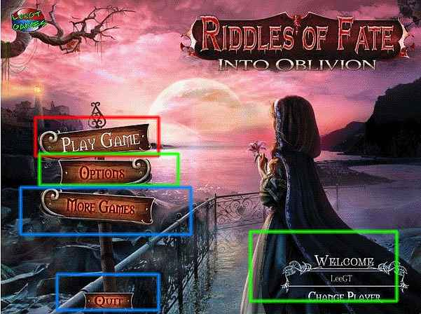 riddles of fate: into oblivion collector's edition walkthrough screenshots 1