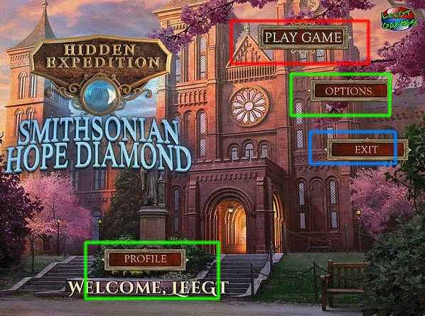hidden expedition: smithsonian hope diamond walkthrough
