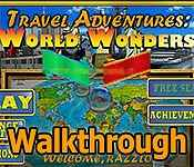 travel adventures: world wonders walkthrough