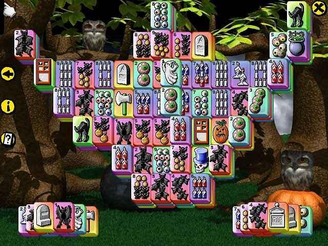 halloween mahjong screenshots 1