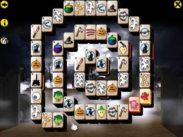 halloween mahjong screenshots 2