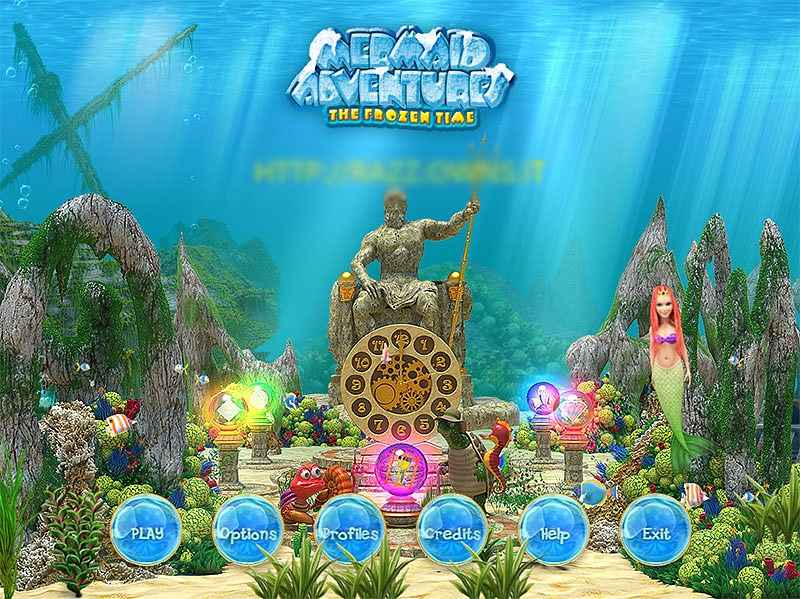 mermaid adventures: the frozen time screenshots 2
