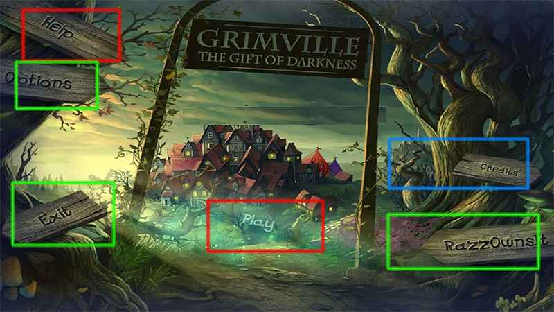 grimville: the gift of darkness walkthrough