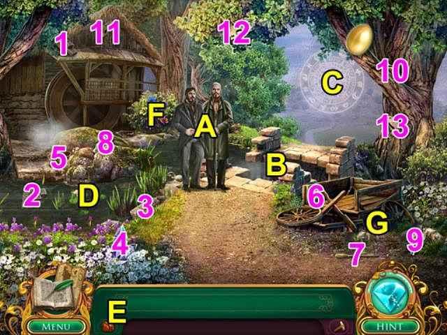 fairy tale mysteries: the beanstalk walkthrough 2 screenshots 1
