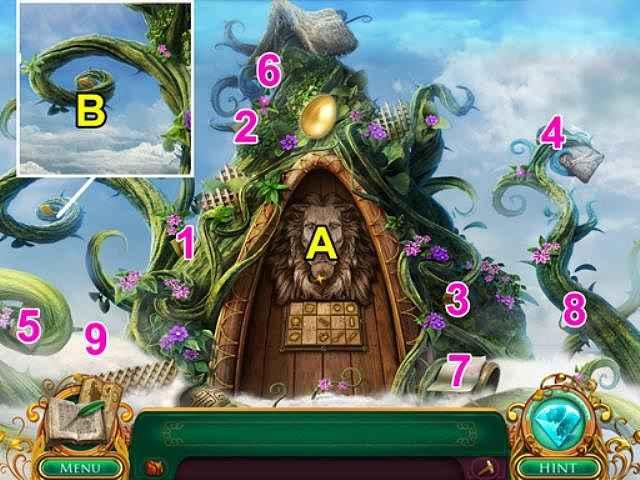 fairy tale mysteries: the beanstalk walkthrough 6 screenshots 1