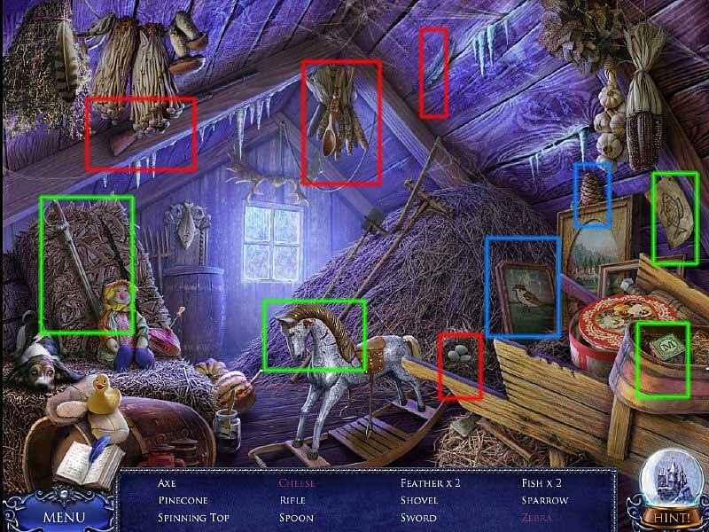 secret trails: frozen heart collector's edition walkthrough screenshots 3
