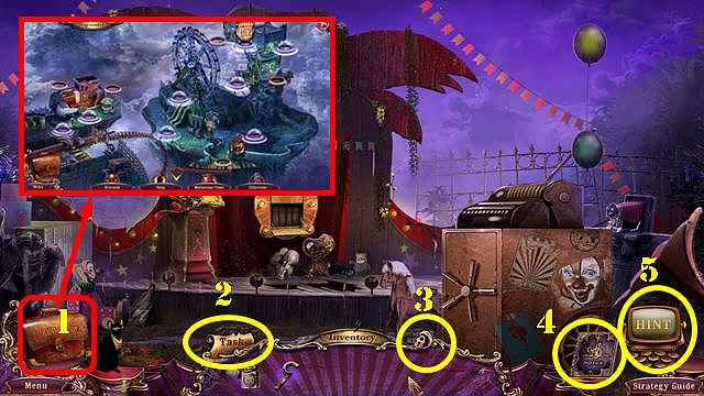 mystery case files: fate's carnival walkthrough 2 screenshots 1