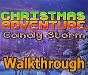 christmas adventure: candy storm walkthrough