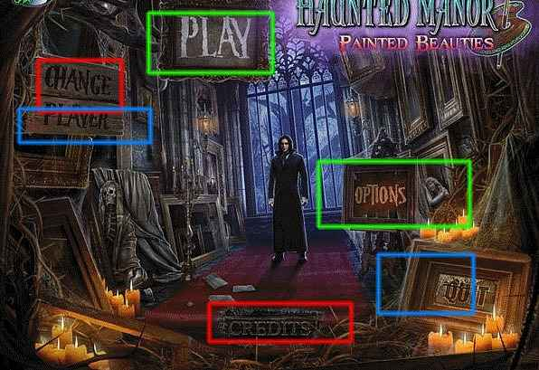 haunted manor: painted beauties walkthrough screenshots 1