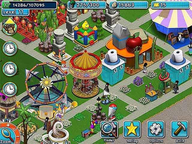 golden ticket: an amusement park sim game screenshots 1