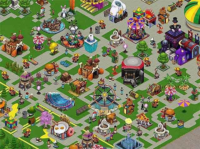 golden ticket: an amusement park sim game screenshots 2