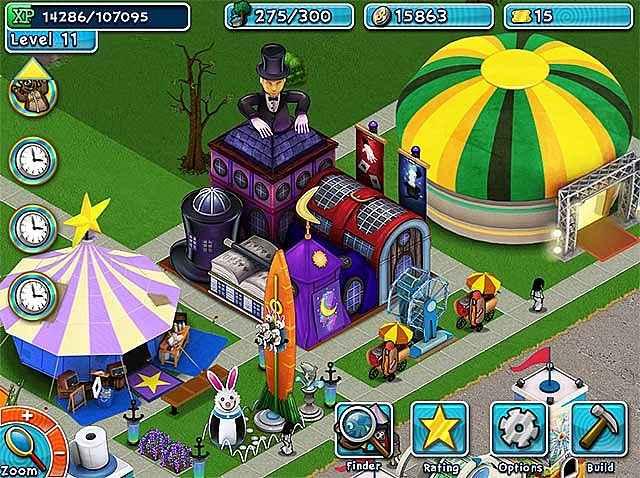 golden ticket: an amusement park sim game screenshots 3
