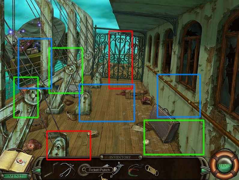 mystery of sargasso sea walkthrough screenshots 1