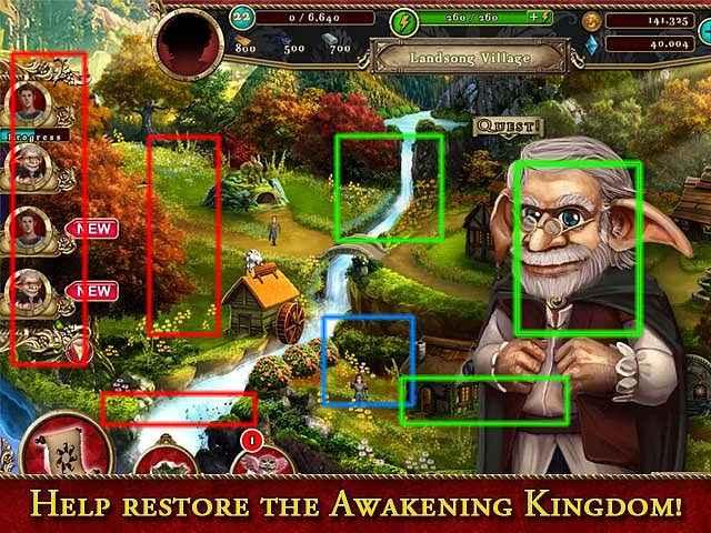 awakening kingdoms walkthrough