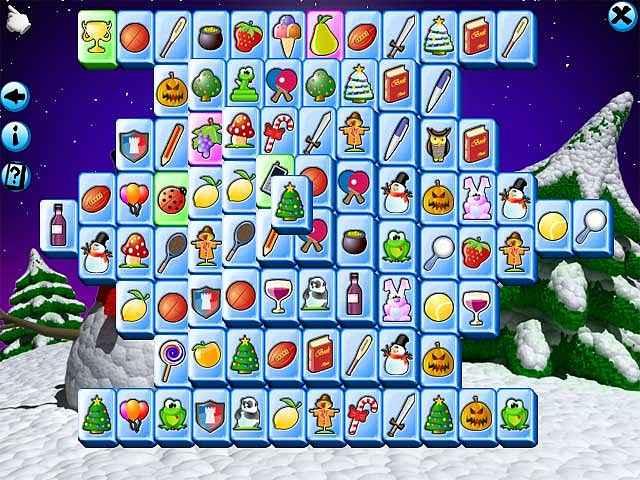 mahjong christmas screenshots 1