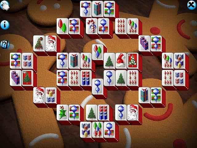 mahjong christmas screenshots 2