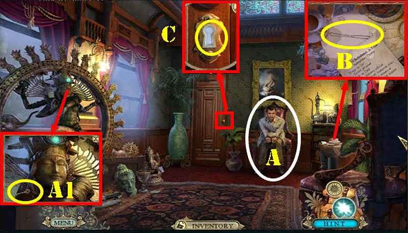 hidden expedition: smithsonian hope diamond walkthrough 2 screenshots 3