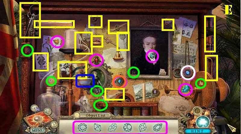 hidden expedition: smithsonian hope diamond walkthrough 5 screenshots 3