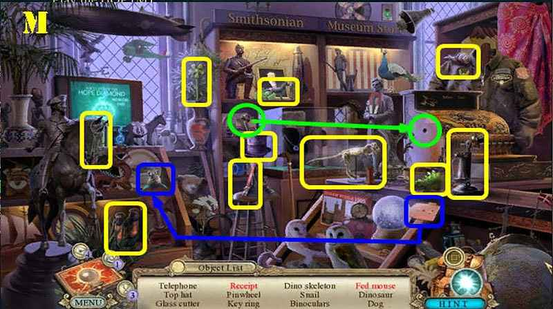 hidden expedition: smithsonian hope diamond walkthrough 6 screenshots 1