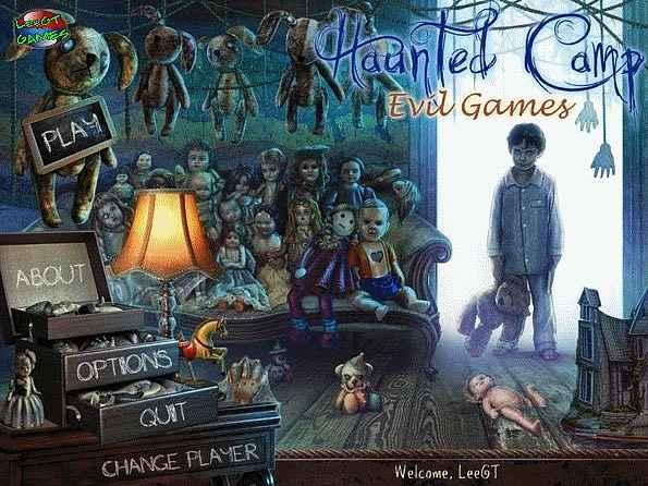 haunted camp: evil games screenshots 1