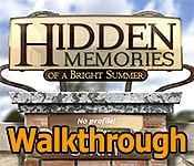 Hidden Memories Of A Bright Summer Walkthrough