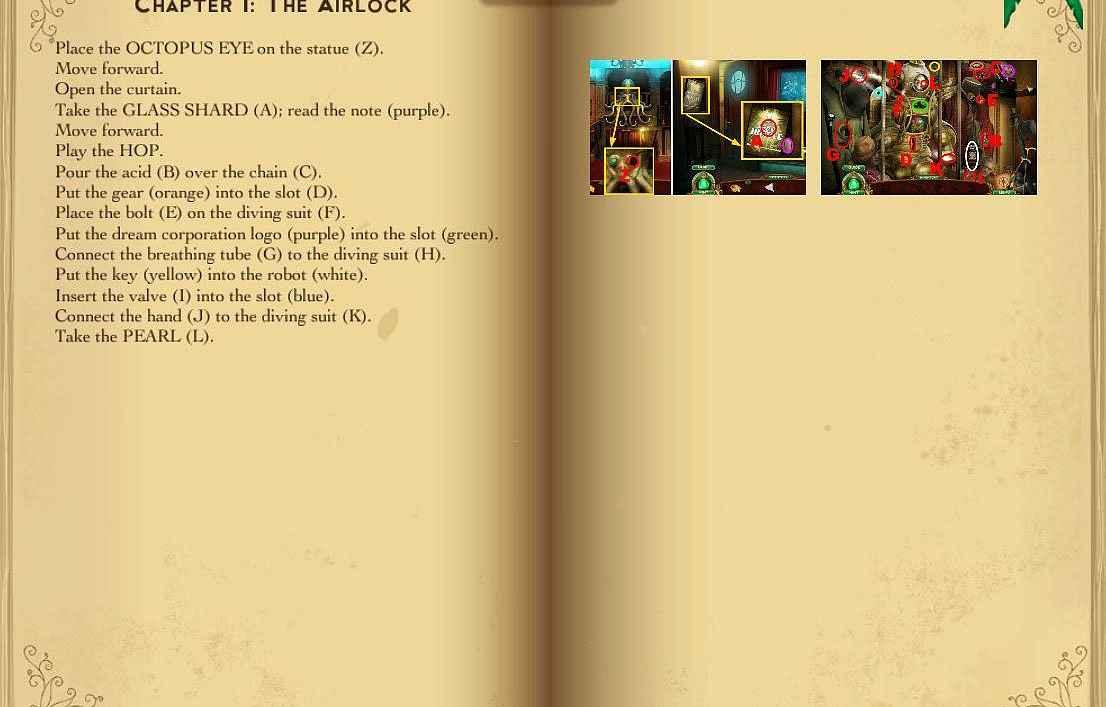 the emerald maiden: symphony of dreams walkthrough 4 screenshots 1