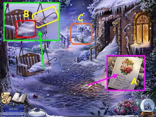 secret trails: frozen heart walkthrough 2 screenshots 1