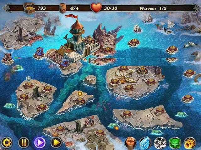 fort defense: seven seas screenshots 1