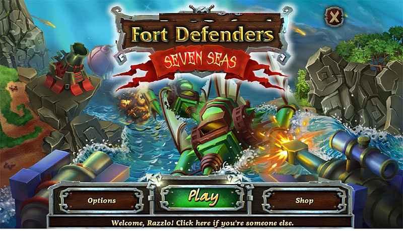 fort defense: seven seas screenshots 2