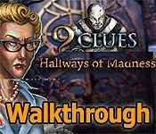 9 clues: hallways of madness collector's edition walkthrough