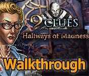 9 Clues: Hallways of Madness Walkthrough